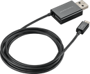 Plantronics 88852-01 2 IN 1 CHARGING CABLE USB BLK - Free Shipping