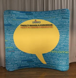 8FT Curved Tension Fabric Backdrop RM1290