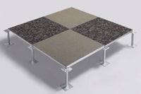 modular raised floor - carpet tile