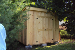 #130 Style Slant Roof Shed - Maxwell Garden Centre