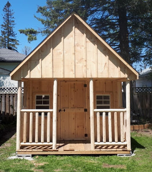 #117 Style Bunkie / Shed 10x14' - Maxwell Garden Centre
