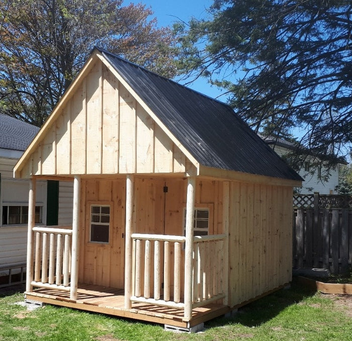 #117 Style Bunkie / Shed 10x14'