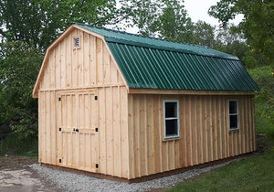 #107-1220 Barn Style Shed 12' x 20' - Maxwell Garden Centre