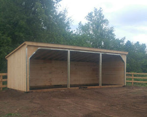 #HS12X30 Horse Run-In 12x30' - Maxwell Garden Centre
