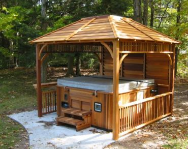 Echo Red Cedar Gazebo