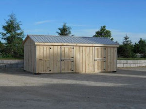 #HRBT12X24 12X24' Portable Row Barn w/Tack Room - Maxwell Garden Centre