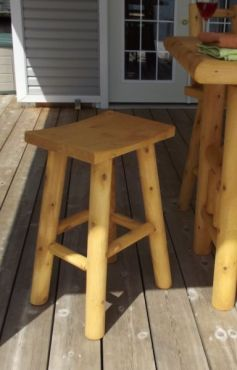 #L146 30 Saddle Bar Stool - Maxwell Garden Centre