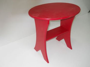 #GST01 Oval Side Table 20 - Maxwell Garden Centre