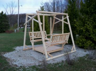 #L405 Old Fashioned Log Swing