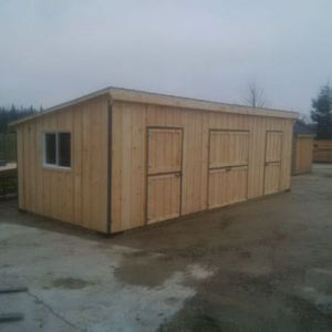#HRBC12X30' Portable Row Barn - Maxwell Garden Centre