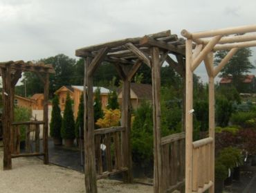 3FT Split Cedar Rail Arbour