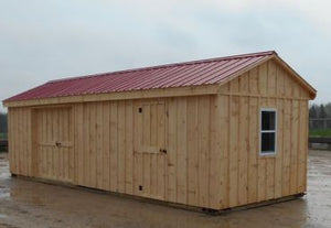 #HRB10X30 10X30' Row Barn/Storage Shed - Maxwell Garden Centre