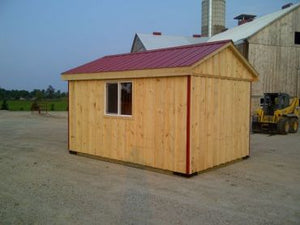 #HRB10X14 10x14' Portable Row Barn - Maxwell Garden Centre