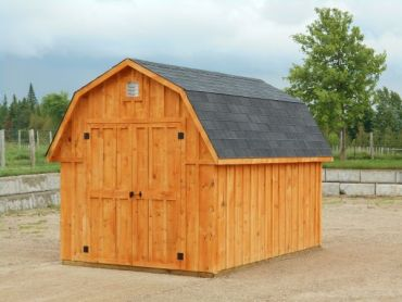 #107 Barn Style Garden Shed