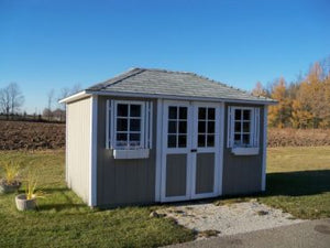 #124 Style Cottage Roof Garden Shed - Maxwell Garden Centre