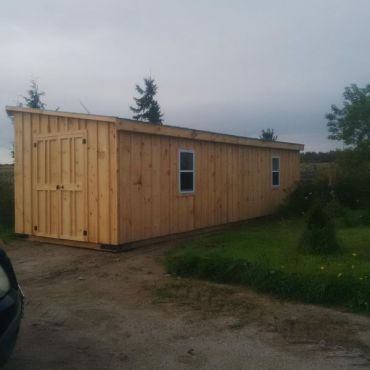 #143 10x30' Shed/Cabin