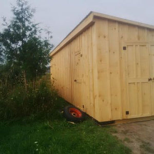 #143 10x30' Shed/Cabin - Maxwell Garden Centre