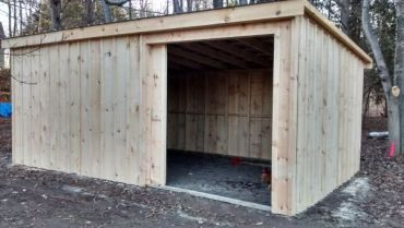 #145 12x20' Slant Roof Style Shed