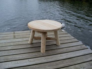 #L137 24'' ROUND END TABLE - Maxwell Garden Centre