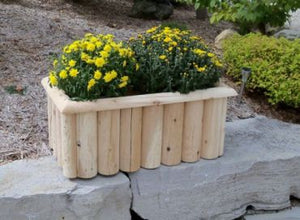 "#L352 32"" Log Planter - Maxwell Garden Centre"