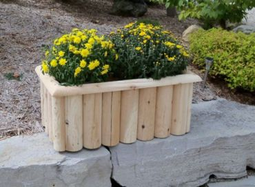 Outdoor Cedar Log Furniture