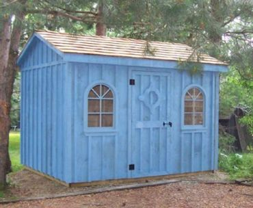 #104 Style Garden Shed