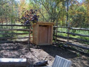 #FWS4X8 4x8' Fire Wood Storage Shed - Maxwell Garden Centre