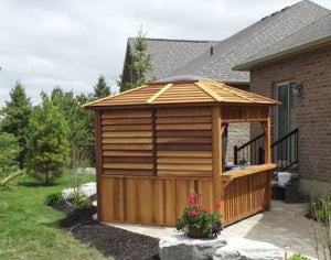 Echo Red Cedar Gazebo - Maxwell Garden Centre