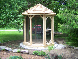 The 8' Alpine Octagon Gazebo - Maxwell Garden Centre