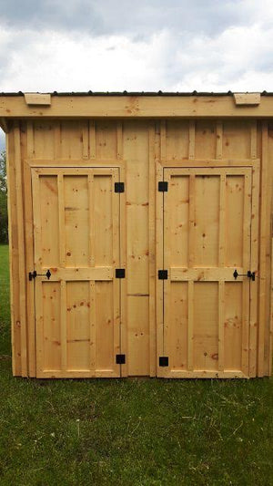 8x8' His & Her's Outhouse - Maxwell Garden Centre