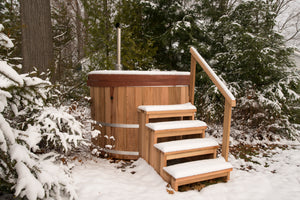 48'' Red Cedar Hot Tub - Maxwell Garden Centre