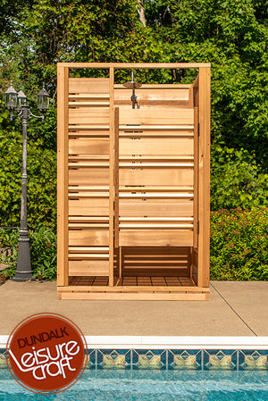 #550S Couldburst Outdoor Cedar Shower - Maxwell Garden Centre
