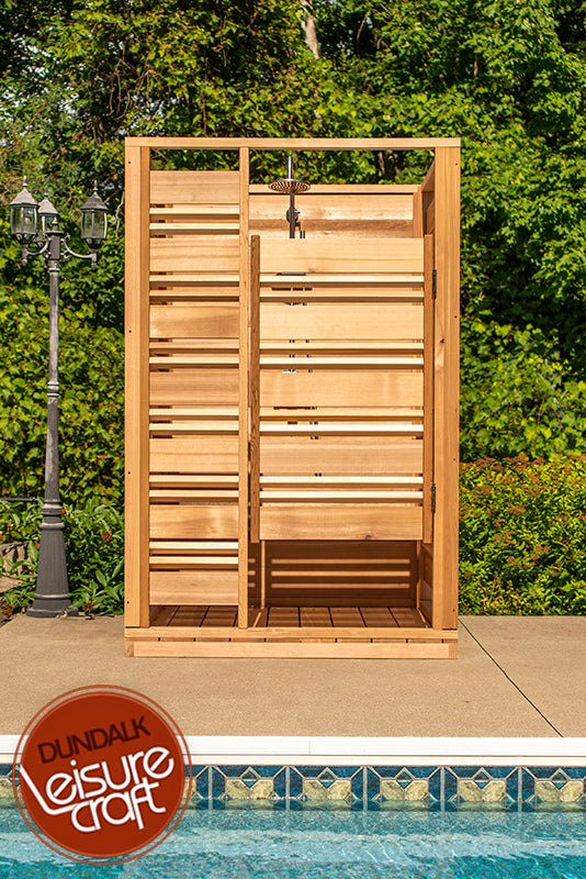 #550S Couldburst Outdoor Cedar Shower