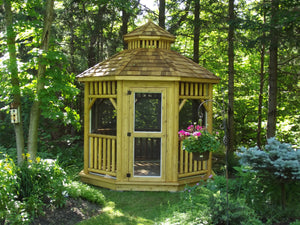 The 10' Alpine Octagon Gazebo - Maxwell Garden Centre