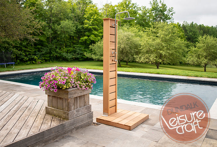 #510S Sunlight Outdoor Cedar Shower