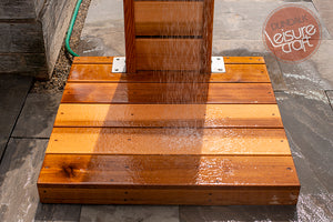 #510S Sunlight Outdoor Cedar Shower - Maxwell Garden Centre