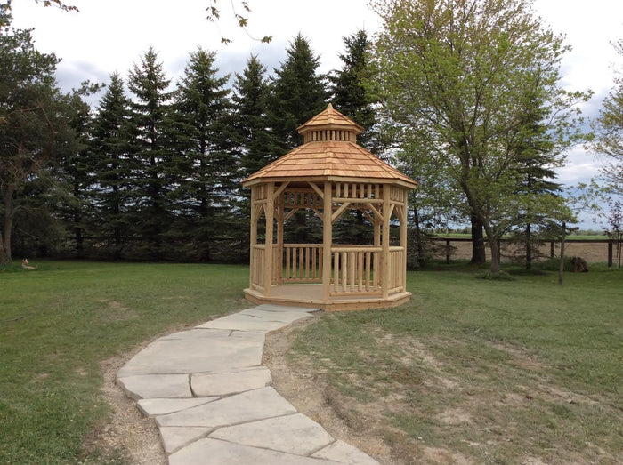 The 14' Alpine Octagon Gazebo