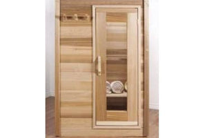 Indoor Clear Western Red Cedar Saunas - Maxwell Garden Centre