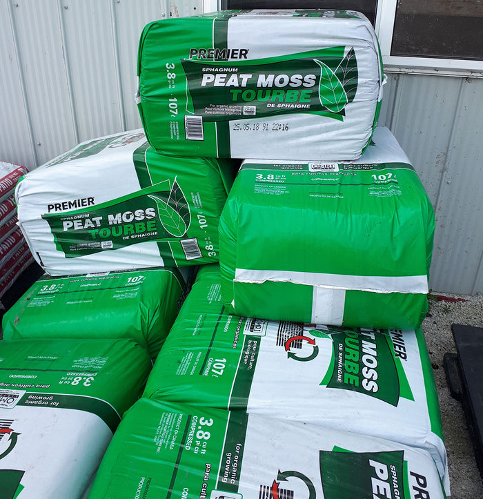 3.8 cuft. Peat Moss Bales