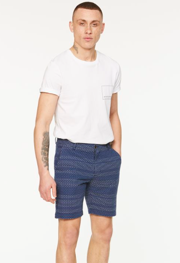Jimmy Indigo Stitches shorts