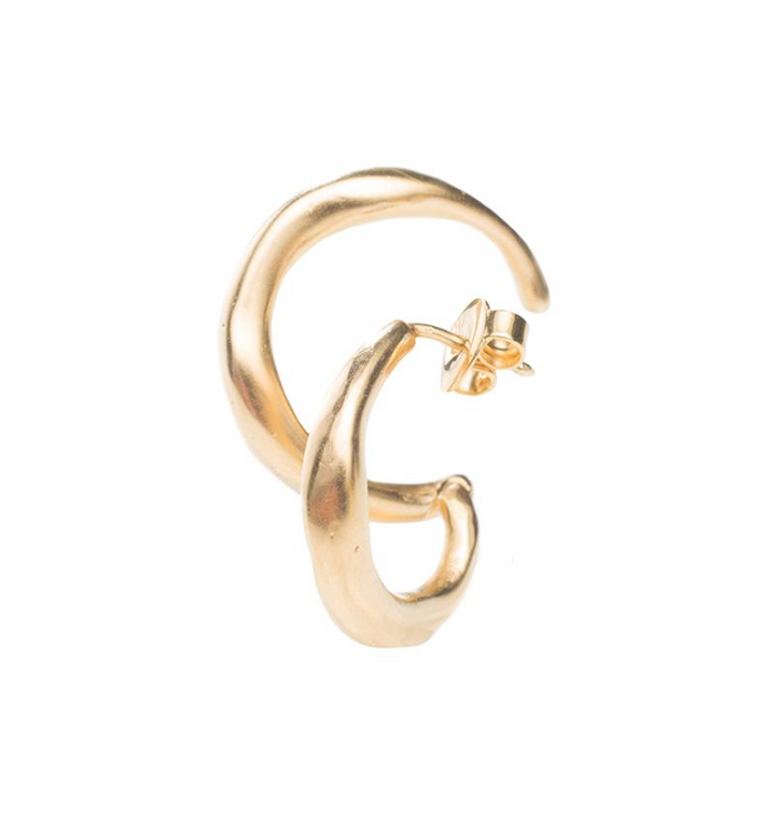 Bold Ear Piece gold left