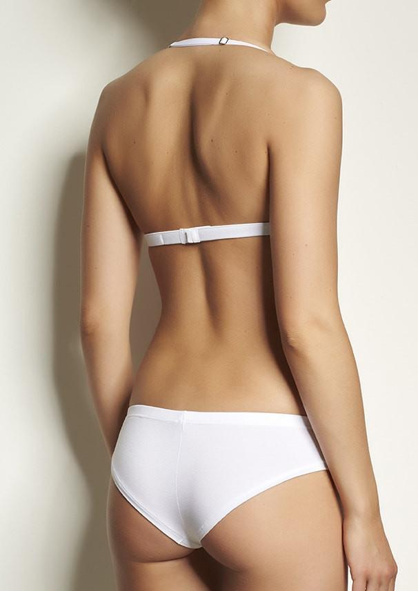 Brazilian cut undies Cheeky Base white