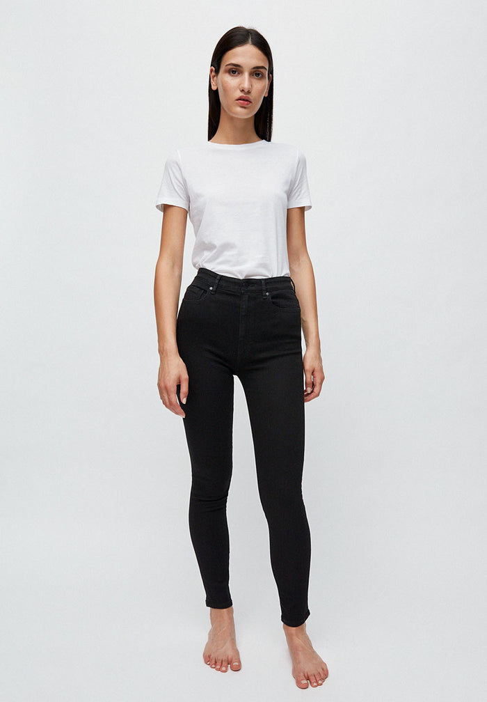 INGAA X STRETCH Jeans made of Organic Cotton Mix in black night