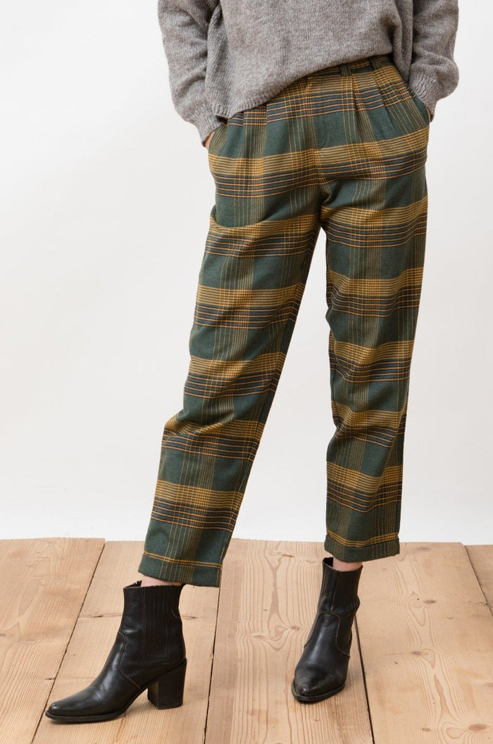FLANNEL TROUSERS DUORO