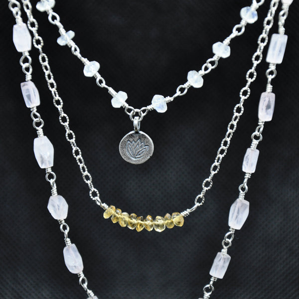 Rise Above Multi Strand Necklace