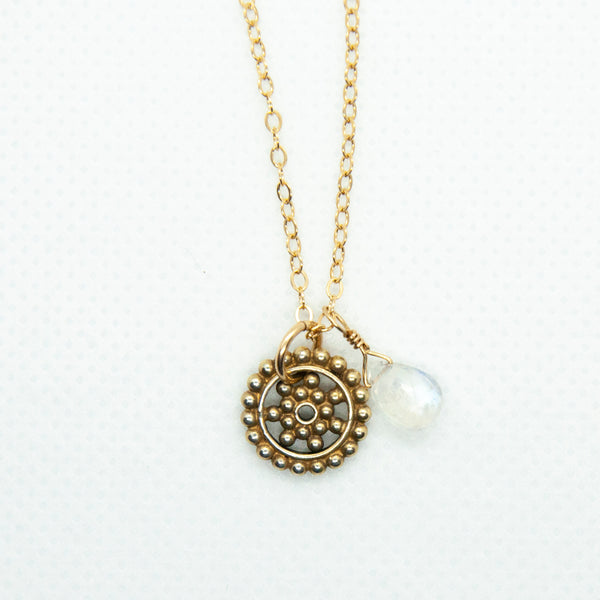 Charmed Mandala Necklace