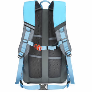 best bike commuter backpack, blue backpack, riderbag