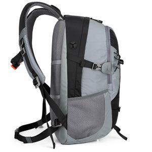 Black Reflective Bike and Outdoor Backpack |Riderbag Reflektor35