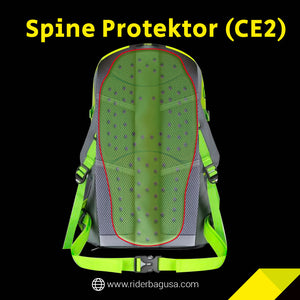 spine protector, motorcycle jacket insert, motorycle backpack