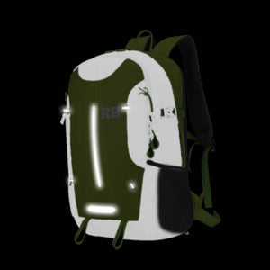 reflective backpack rider bag